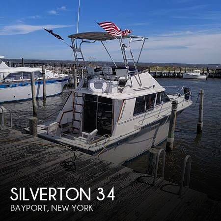 Used Silverton Boats For Sale in New York by owner | 1988 Silverton 34 CONVERTIBLE