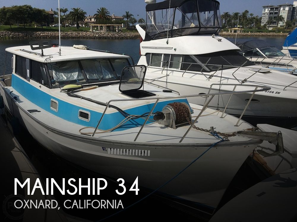 1980 Mainship boat for sale, model of the boat is 34 & Image # 1 of 40