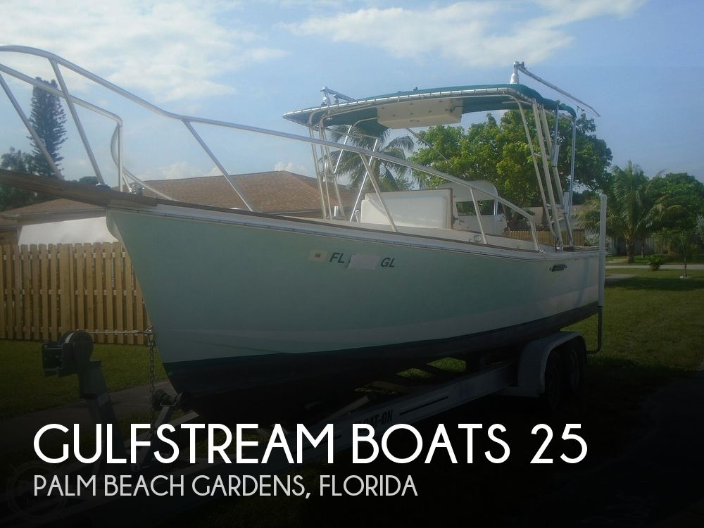1989 Gulfstream Boats boat for sale, model of the boat is Morgan 25 CC & Image # 1 of 40