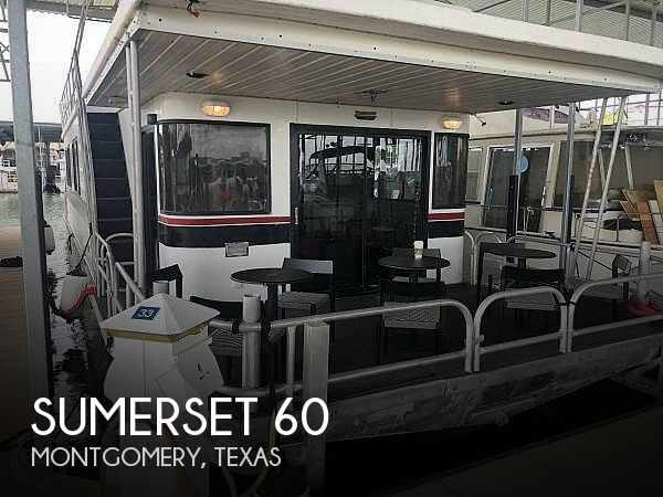 Used Houseboats For Sale in Texas by owner | 1996 60 foot Sumerset Sumerset