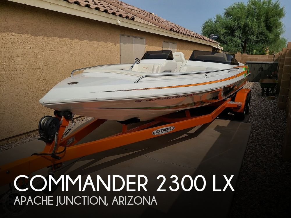 2018 Commander boat for sale, model of the boat is 2300 LX & Image # 1 of 40