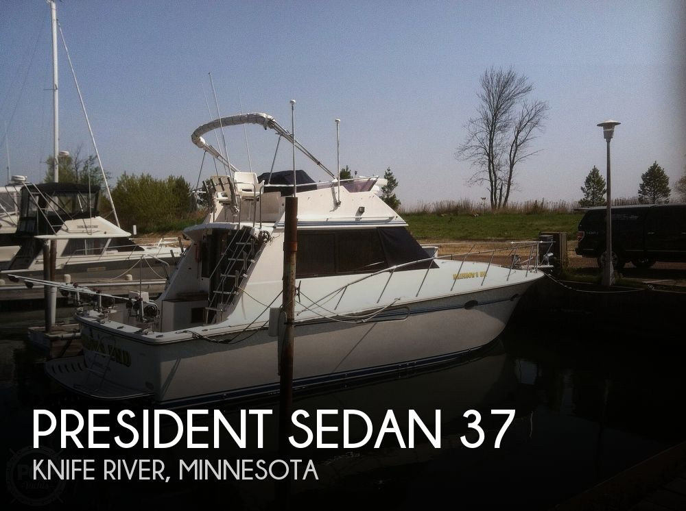 Used Boats For Sale in Duluth, Minnesota by owner | 1987 President Sedan 37