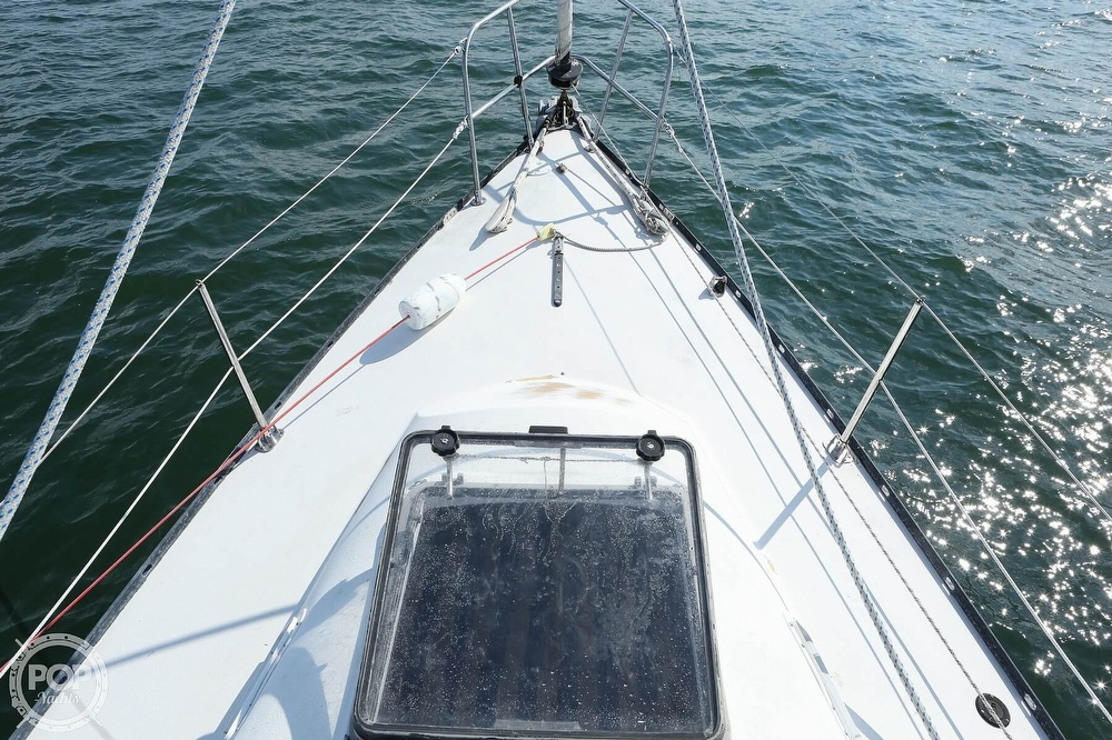 1974 C & C boat for sale, model of the boat is 35 Mark II & Image # 5 of 40