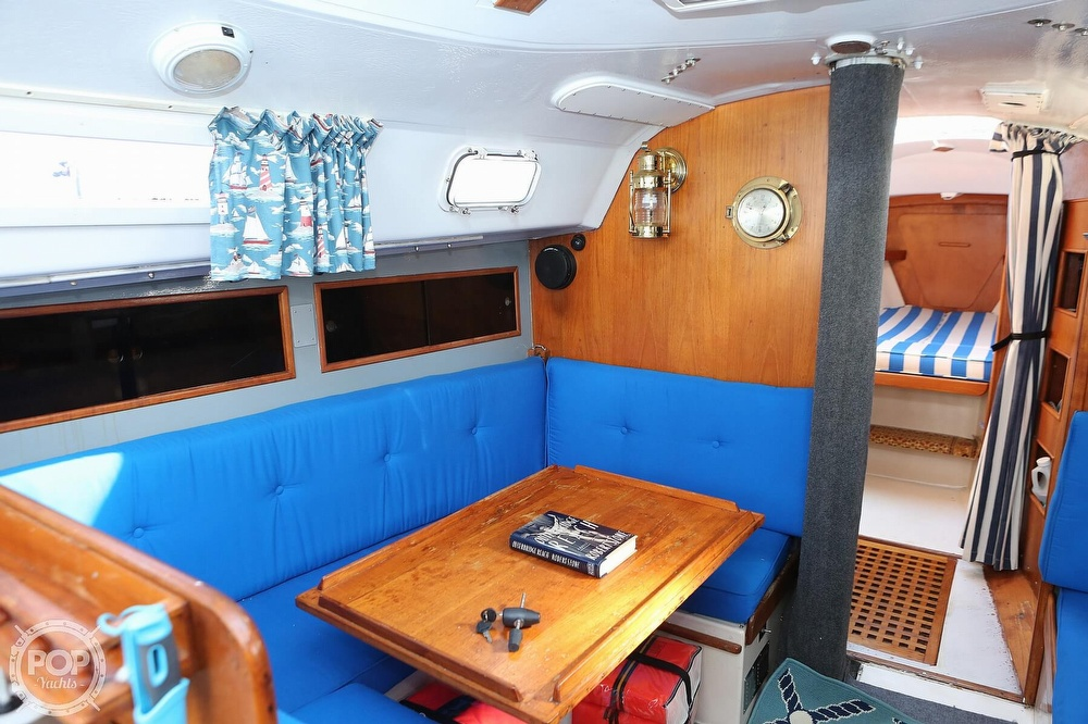 1974 C & C boat for sale, model of the boat is 35 Mark II & Image # 6 of 40