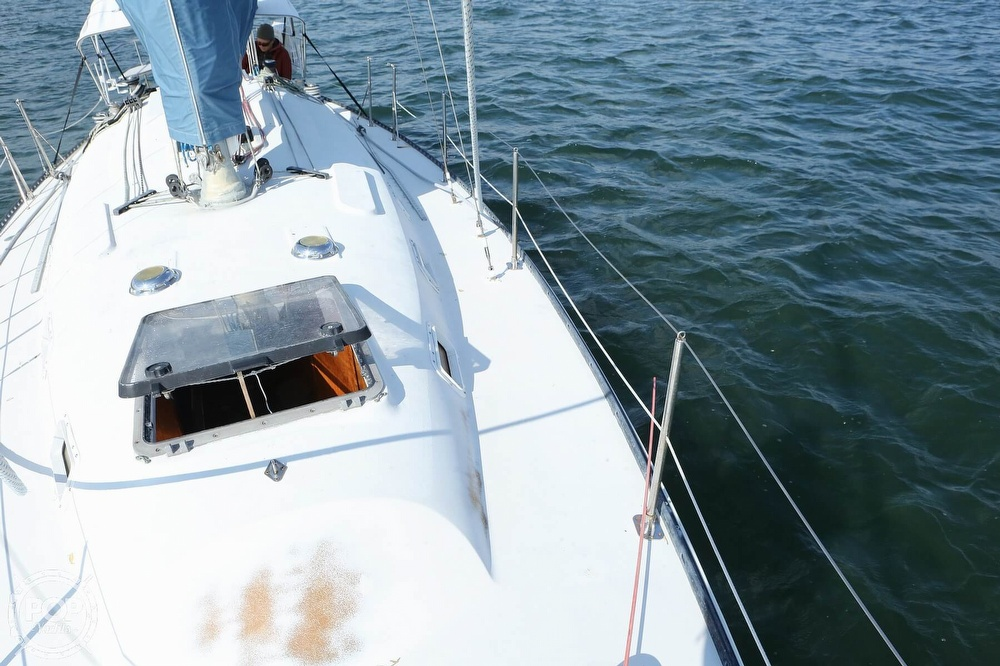 1974 C & C boat for sale, model of the boat is 35 Mark II & Image # 13 of 40