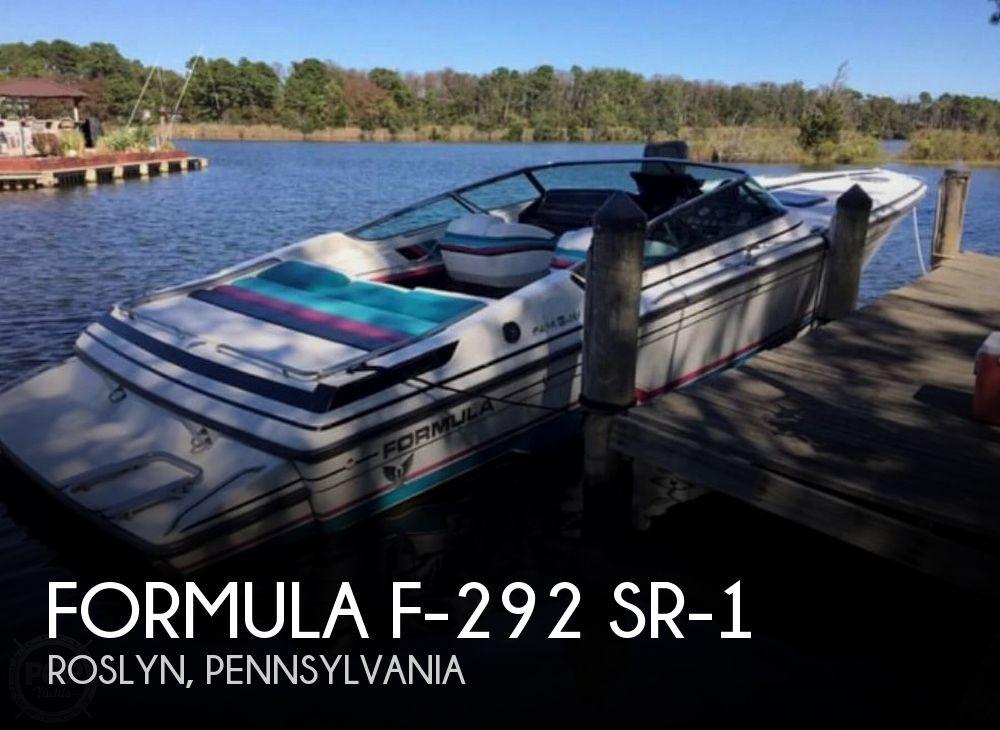 1989 Formula boat for sale, model of the boat is F-292 SR-1 & Image # 1 of 21