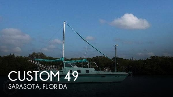 Used Boats For Sale in Lakeland, Florida by owner | 2015 Custom 49 World Cruiser