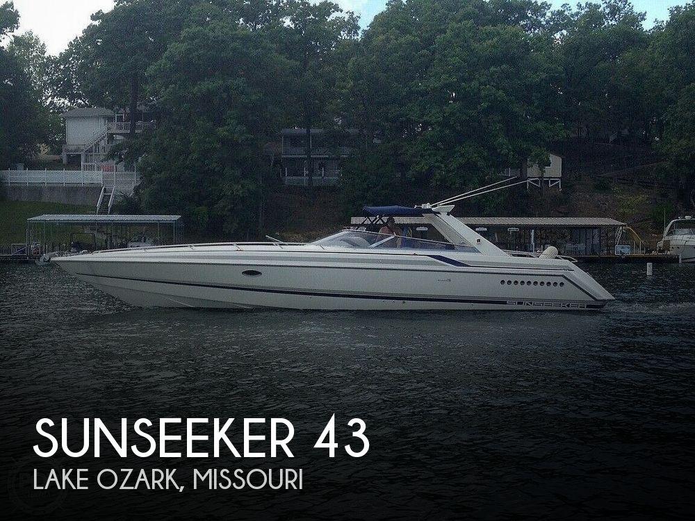 Used Sunseeker Boats For Sale by owner   1992 Sunseeker Thunderhawk 43