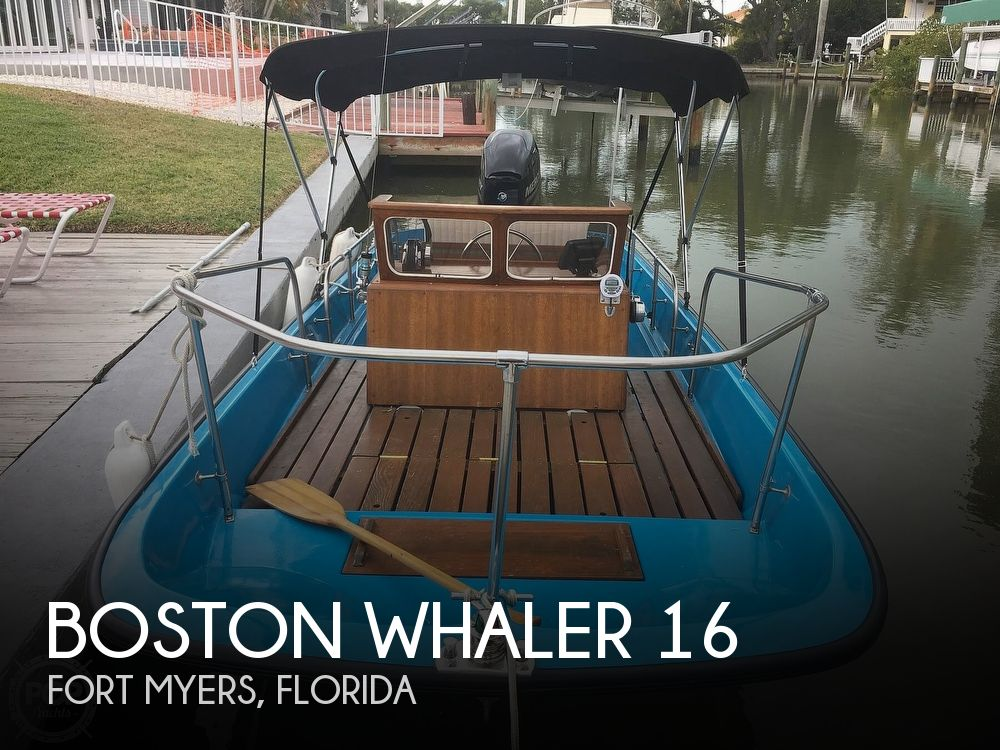 1964 Boston Whaler boat for sale, model of the boat is 16 Sakonet & Image # 1 of 19