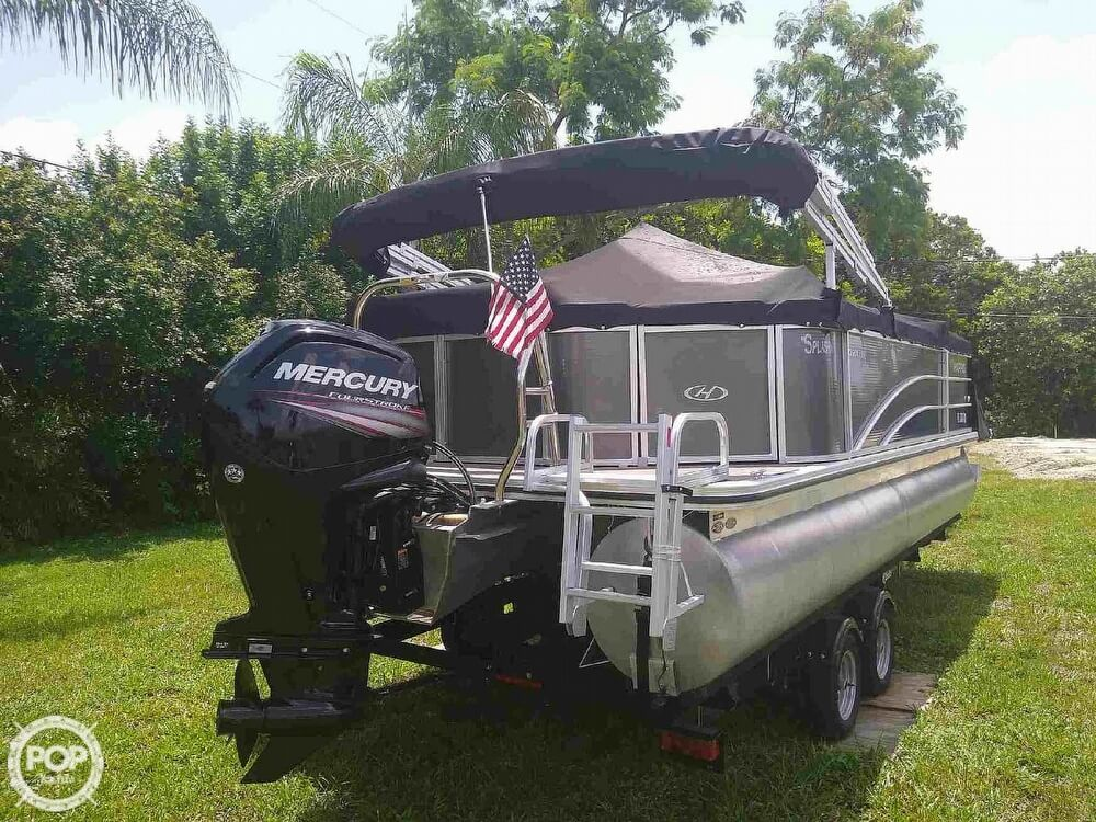 2016 Harris boat for sale, model of the boat is 220 Cruiser & Image # 3 of 41