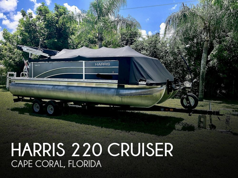 2016 Harris boat for sale, model of the boat is 220 Cruiser & Image # 1 of 41