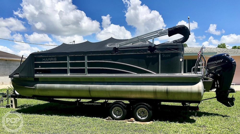 2016 Harris boat for sale, model of the boat is 220 Cruiser & Image # 38 of 41