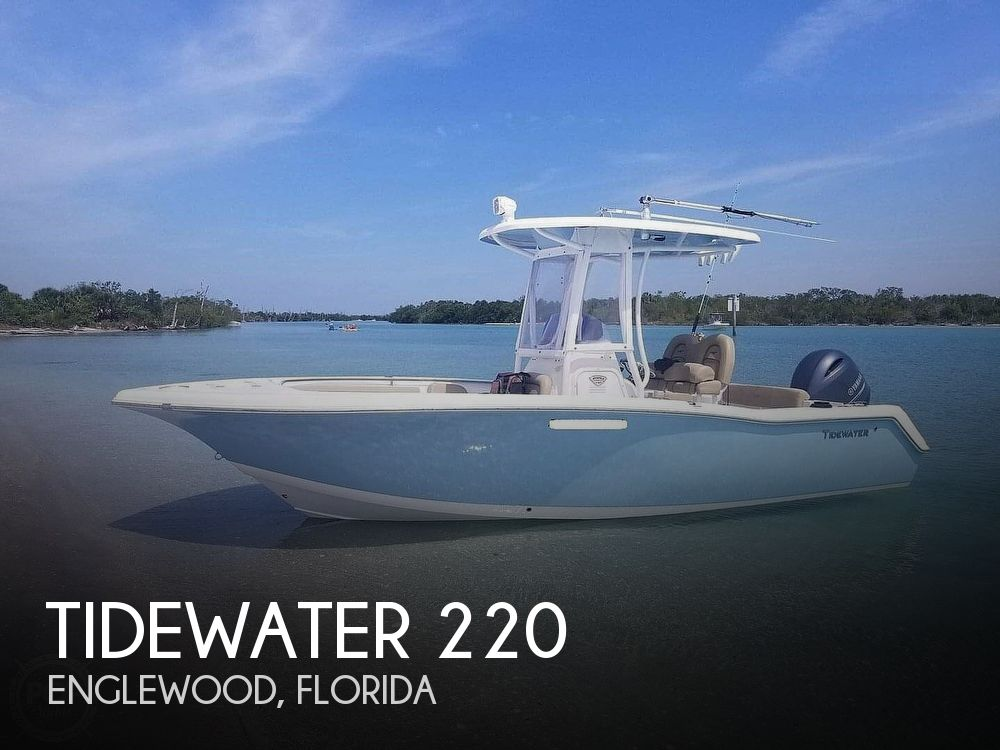 2016 Tidewater boat for sale, model of the boat is 220 Adventure & Image # 1 of 40