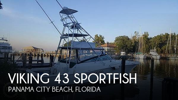 Used Fishing boats For Sale in Florida by owner | 1995 Viking 43