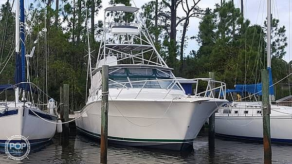 1995 Viking boat for sale, model of the boat is 43 Sportfish & Image # 4 of 40