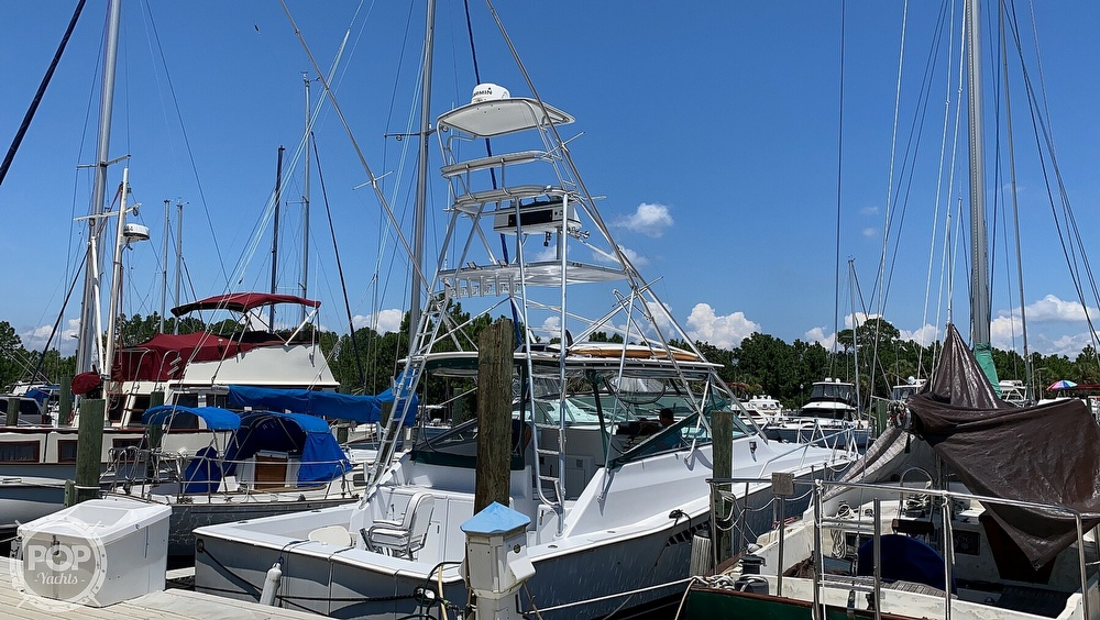 1995 Viking boat for sale, model of the boat is 43 Sportfish & Image # 6 of 40