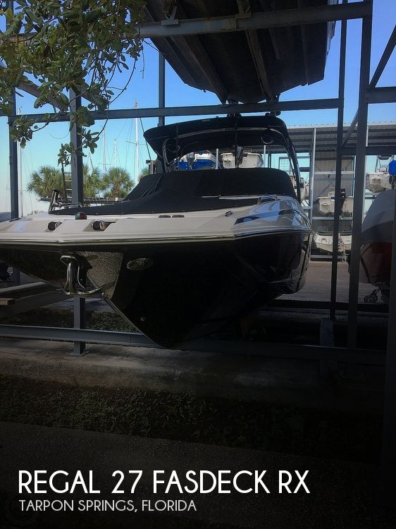 Used Regal 27 Boats For Sale by owner | 2013 Regal 27 Fasdeck RX