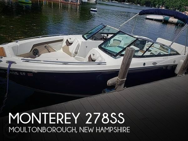 Used Monterey Boats For Sale by owner   2016 Monterey 278SS