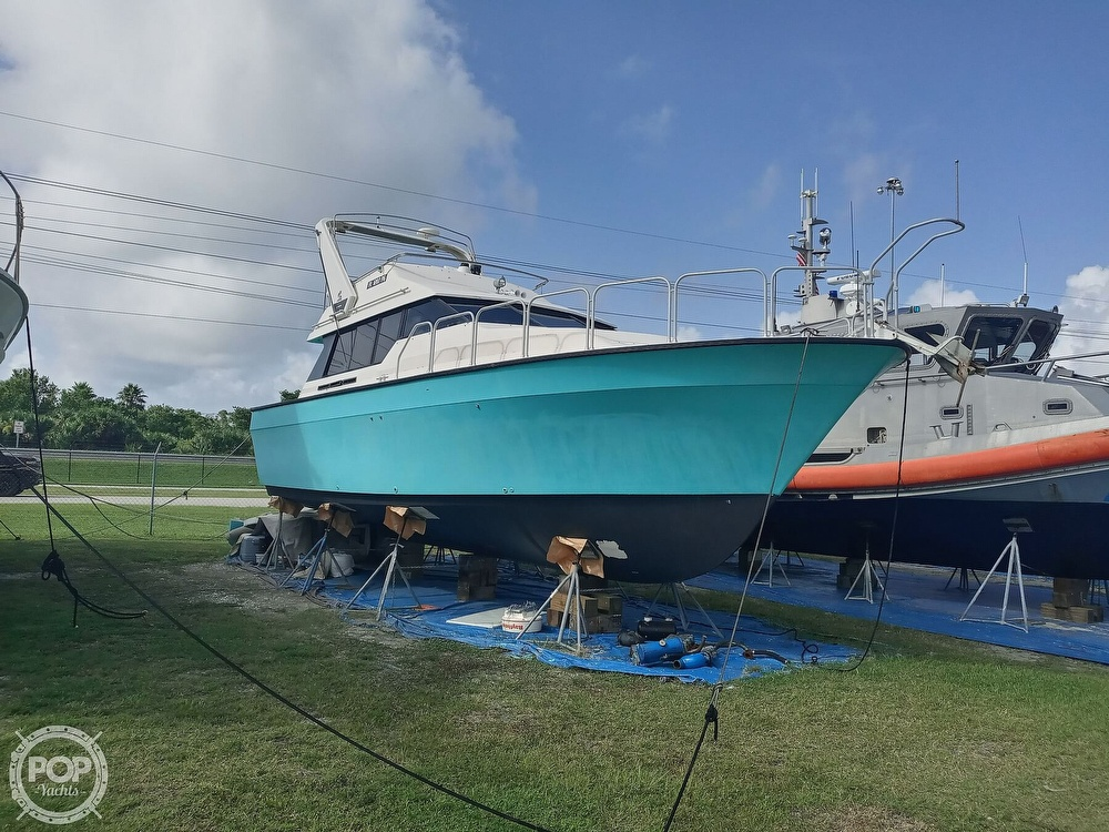 1988 Mainship boat for sale, model of the boat is Mediterranean 35 & Image # 10 of 40