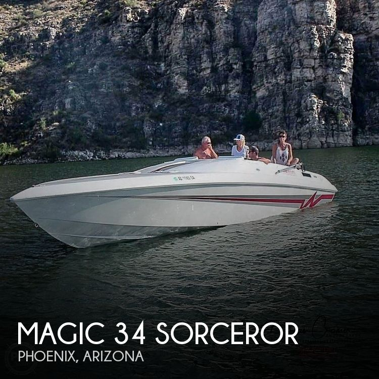 Used Boats For Sale in Phoenix, Arizona by owner | 1995 Magic 34