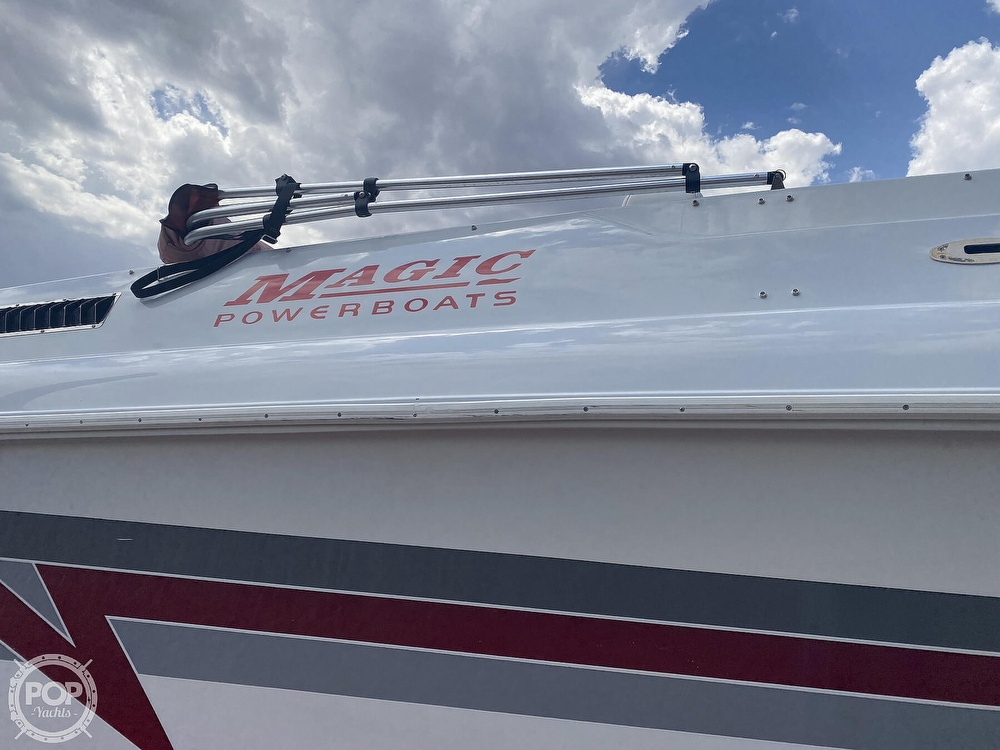 1995 Magic boat for sale, model of the boat is 34 Sorceror & Image # 13 of 40