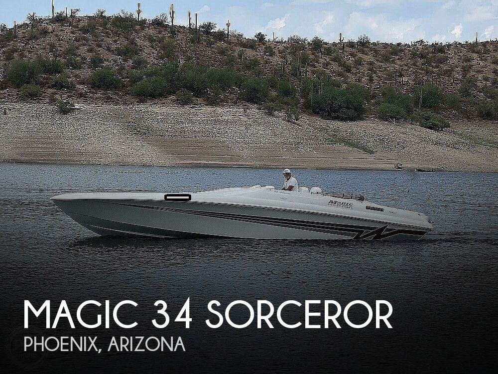 1995 Magic boat for sale, model of the boat is 34 Sorceror & Image # 1 of 40