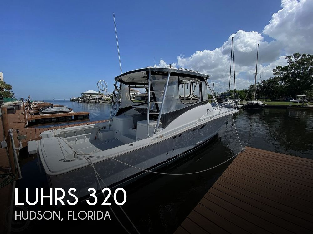 1995 Luhrs boat for sale, model of the boat is Tournament 320 Open & Image # 1 of 40