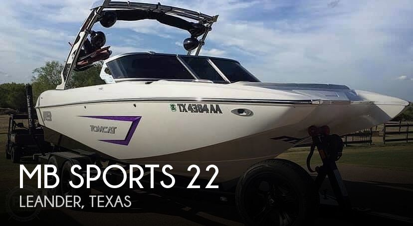 Used MB Sports Boats For Sale by owner | 2014 MB Sports F22 Tomcat