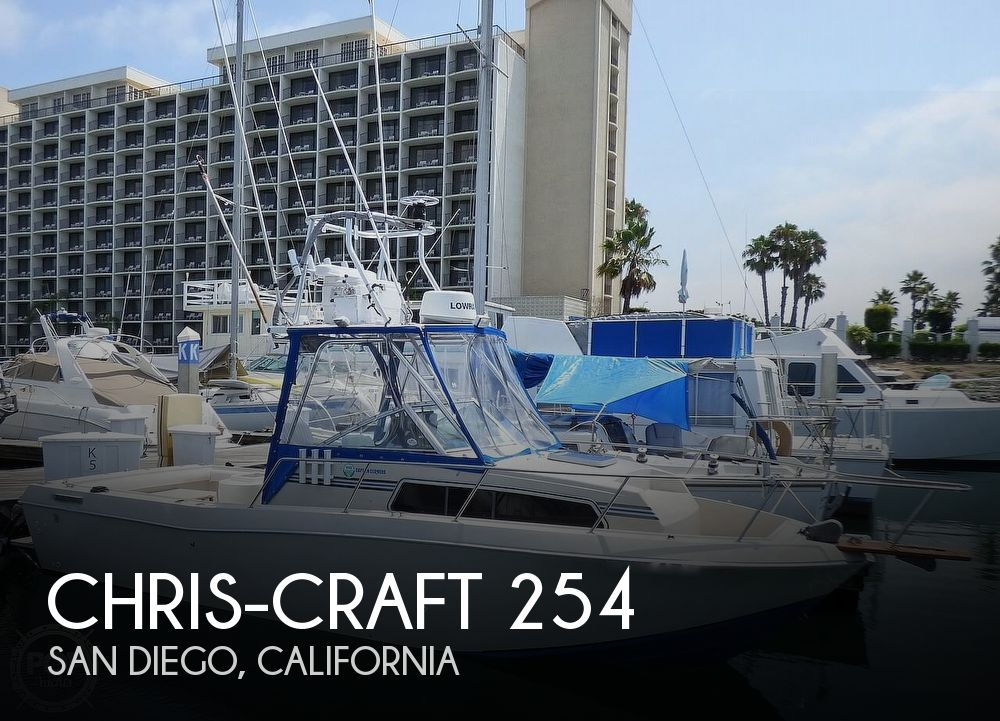 Used Chris-Craft Boats For Sale in California by owner | 1986 25 foot Chris-Craft Scorpion