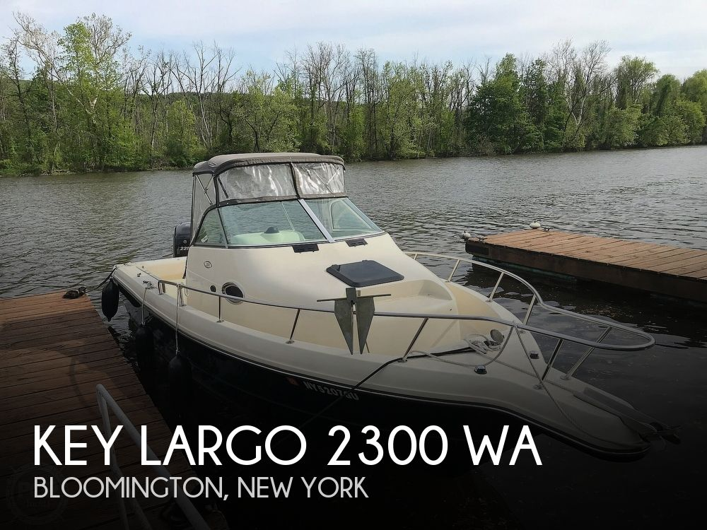 Used Key largo Boats For Sale by owner   2015 Key Largo 23