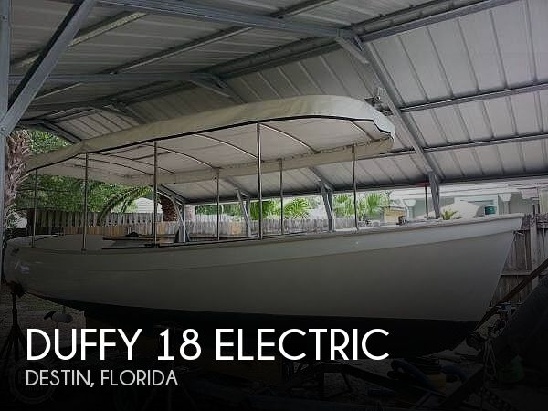 1990 DUFFY ELECTRIC BOAT 18 ELECTRIC for sale