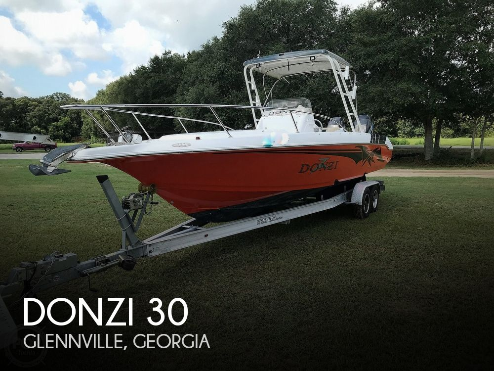 1998 Donzi boat for sale, model of the boat is 30 & Image # 1 of 40
