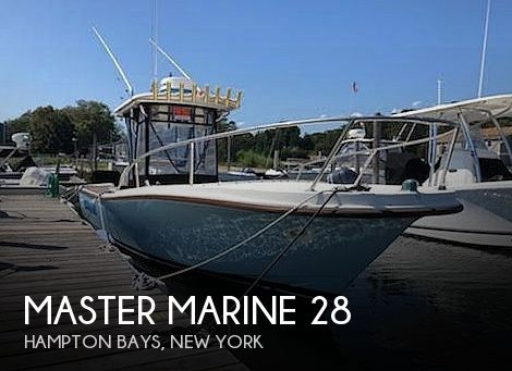 1981 Master Marine boat for sale, model of the boat is 28 & Image # 1 of 30