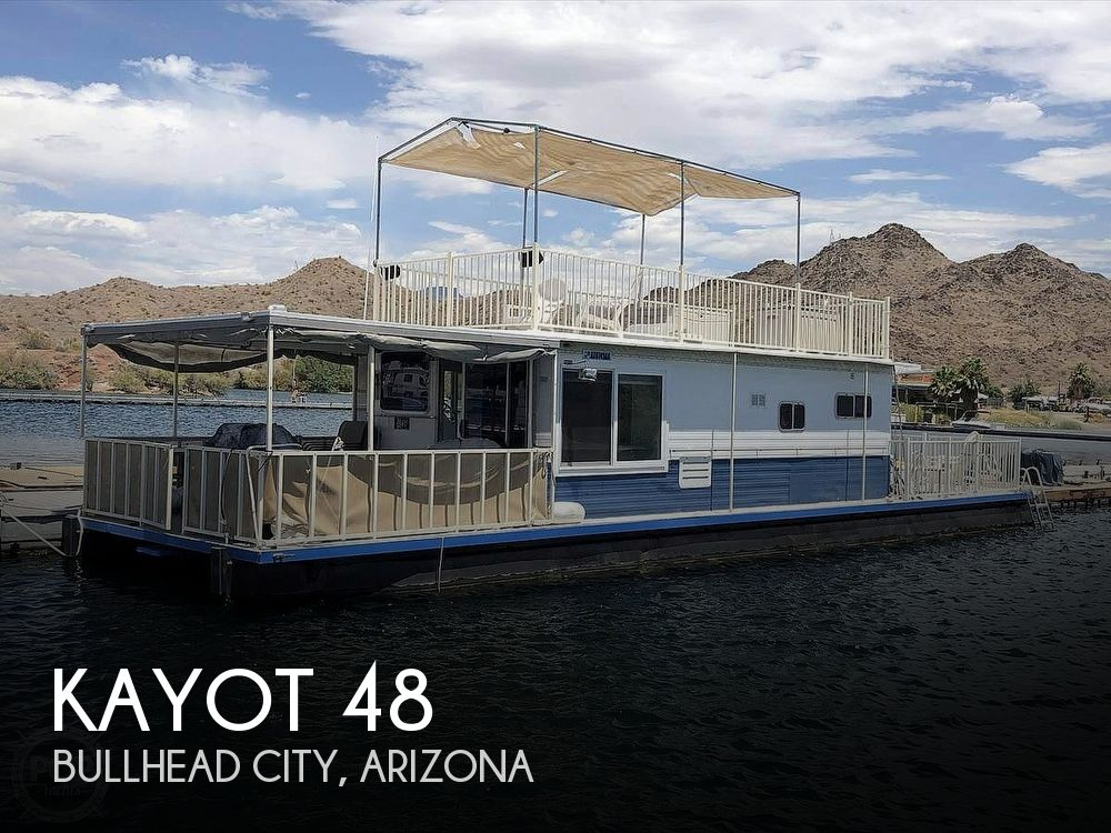 Used Kayot Houseboats For Sale in Arizona by owner | 1977 Kayot 48