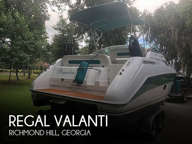 Used Regal VALANTI Boats For Sale by owner | 1991 29 foot Regal VALANTI