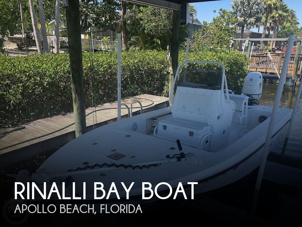 Used Rinalli Boats For Sale by owner | 2002 21 foot Rinalli Bay Boat