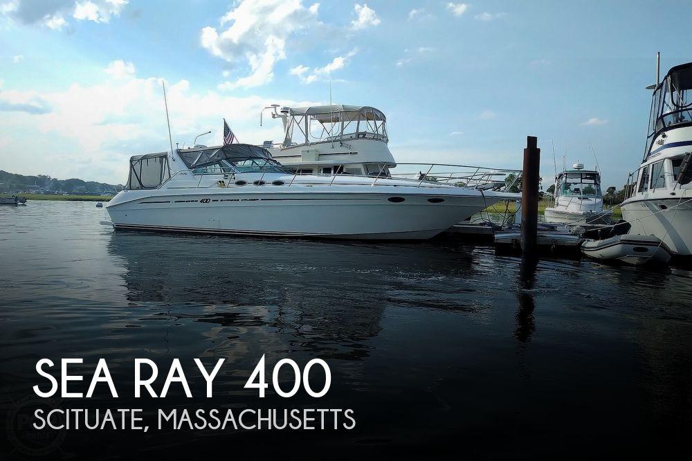 1997 Sea Ray boat for sale, model of the boat is 400 Express Cruiser & Image # 1 of 40