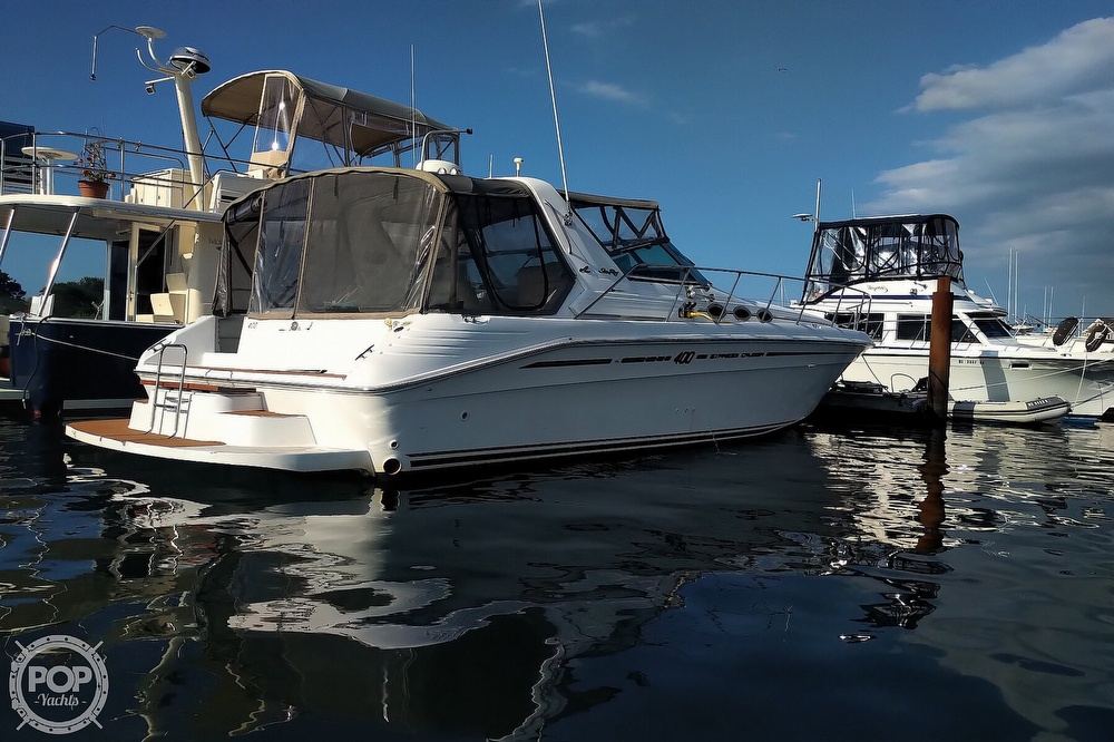 1997 Sea Ray boat for sale, model of the boat is 400 Express Cruiser & Image # 29 of 40