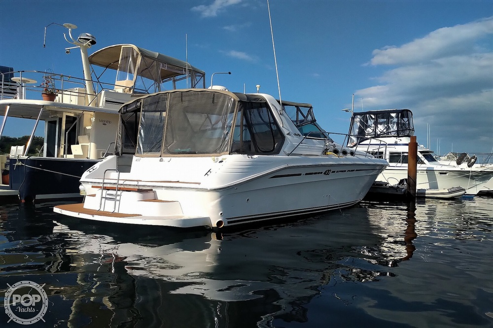 1997 Sea Ray boat for sale, model of the boat is 400 Express Cruiser & Image # 30 of 40