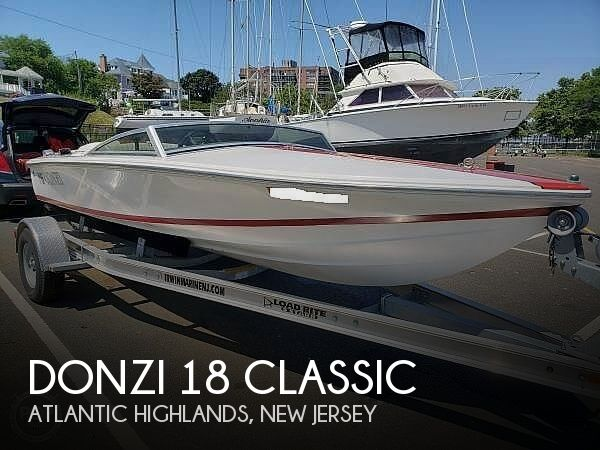 1996 Donzi boat for sale, model of the boat is 18 Classic & Image # 1 of 41