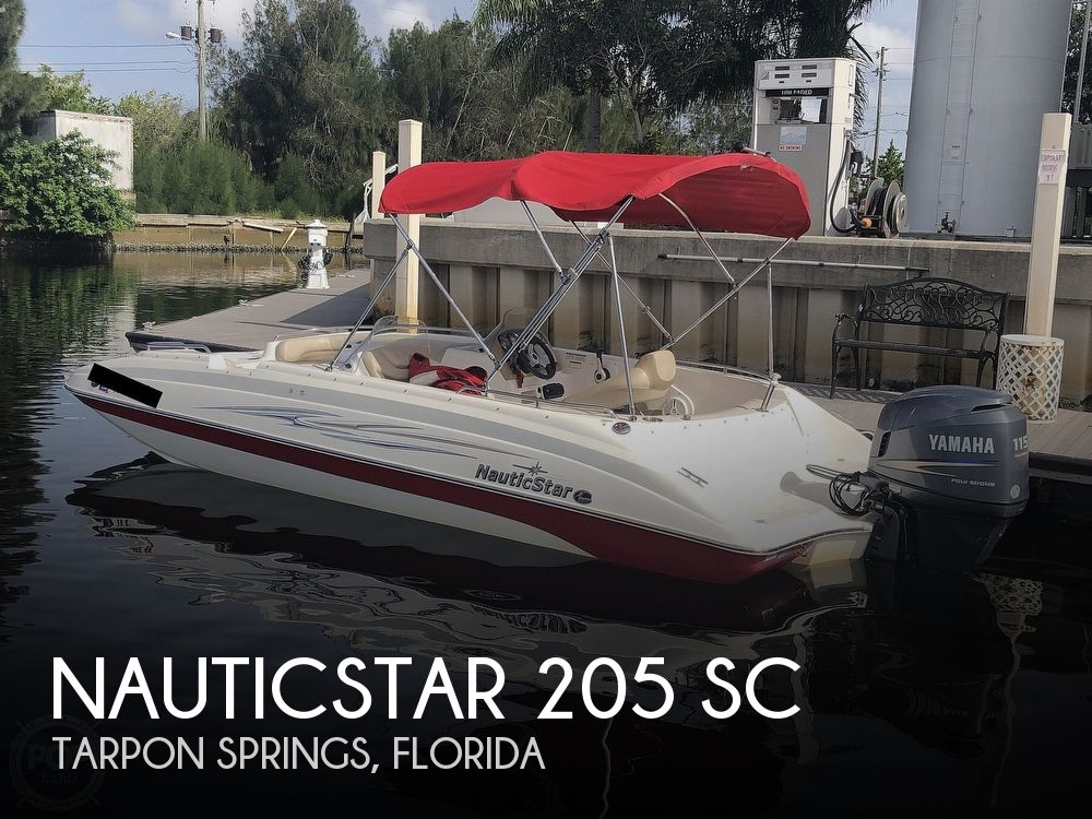 2011 Nautic Star boat for sale, model of the boat is 205 SC & Image # 1 of 40