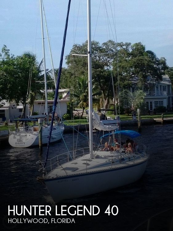 Used Hunter Sailboats For Sale in Florida by owner   1986 Hunter Legend 40