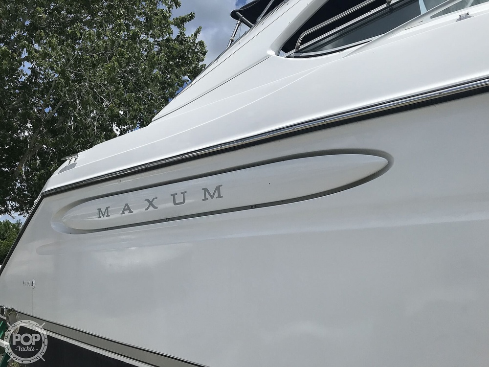 1996 Maxum boat for sale, model of the boat is 3900 SCR & Image # 26 of 40