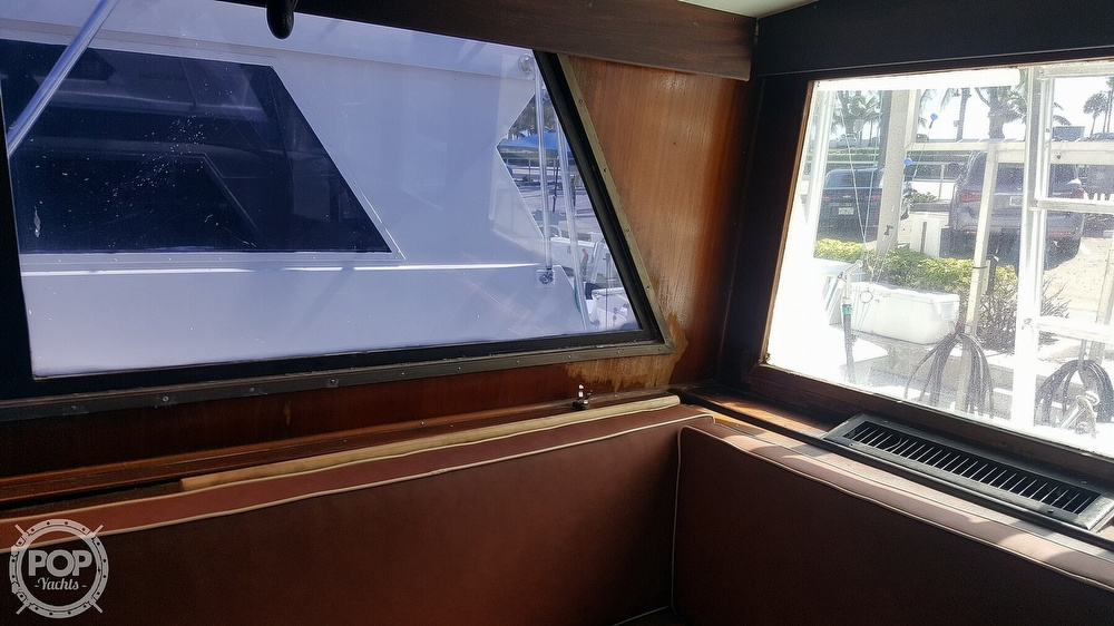 1973 Hatteras boat for sale, model of the boat is 45 & Image # 14 of 40