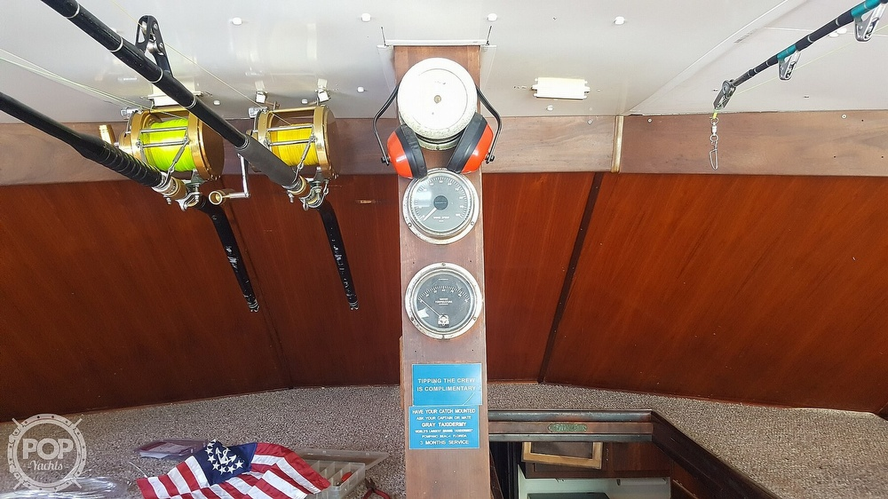1973 Hatteras boat for sale, model of the boat is 45 & Image # 24 of 40