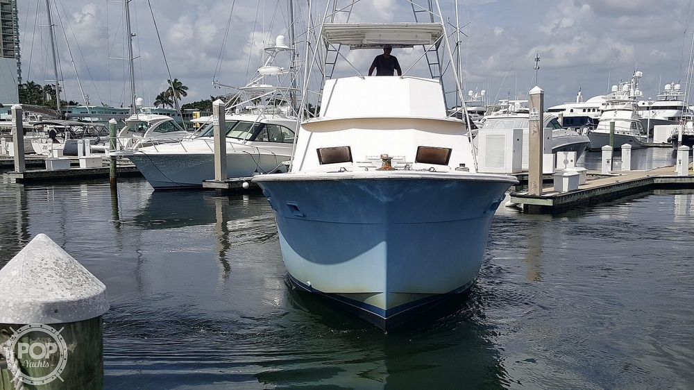 1973 Hatteras boat for sale, model of the boat is 45 & Image # 3 of 40
