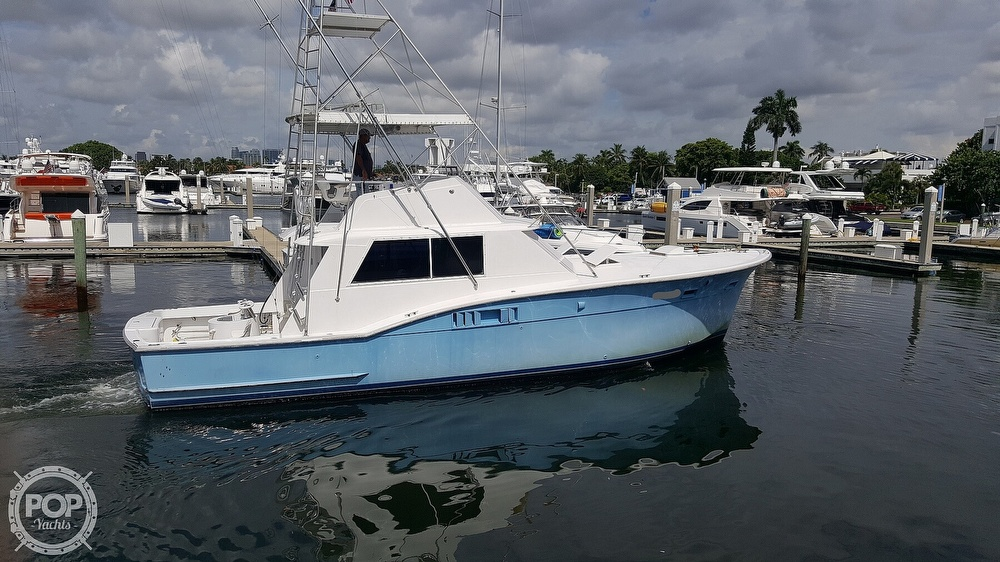 1973 Hatteras boat for sale, model of the boat is 45 & Image # 6 of 40