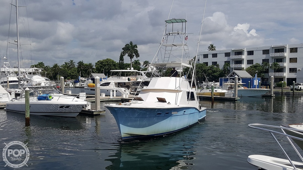 1973 Hatteras boat for sale, model of the boat is 45 & Image # 9 of 40