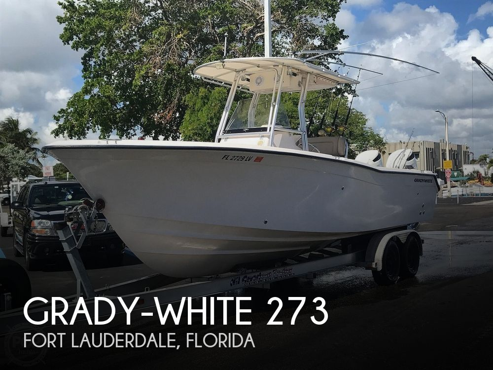 Used Grady-White Boats For Sale by owner | 2002 Grady-White Chase 273