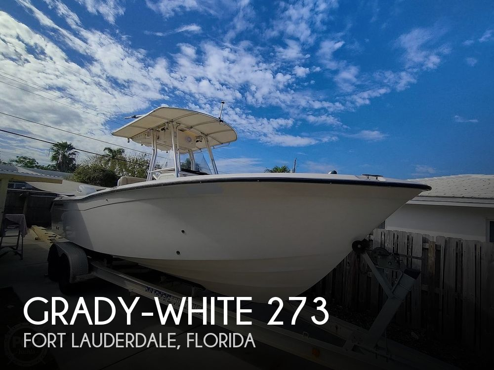 2002 Grady-White boat for sale, model of the boat is Chase 273 & Image # 1 of 40